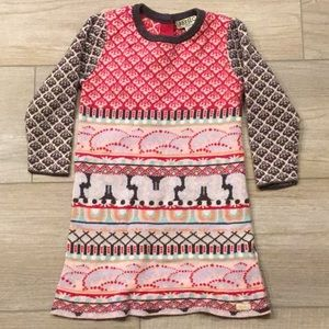 Kenzo Winter dress 12-18M